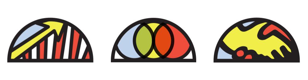 עיצוב אייקונים לוגו מיתוג תדמית חברה שרונה אבירם אהוי קריאייטיב